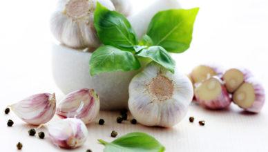 Problemi con aglio e alito cattivo
