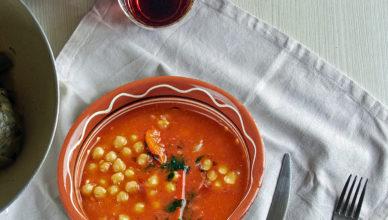 Zuppa di ceci genovese