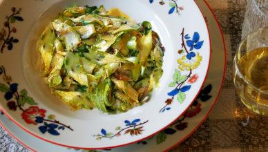Zucchine marinate alla romana