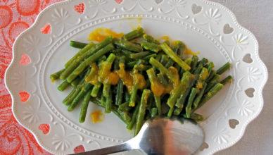 Fagiolini in salsa agrodolce