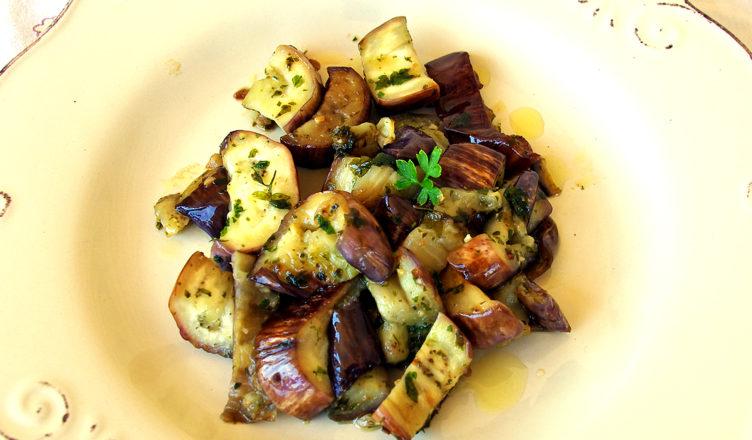 Melanzane trifolate (o a funghetto) tpiche del Veneto
