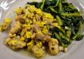 Spezzatino di pollo in salsa d'uovo e limone