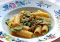 Rigatoni con zucchine e noci