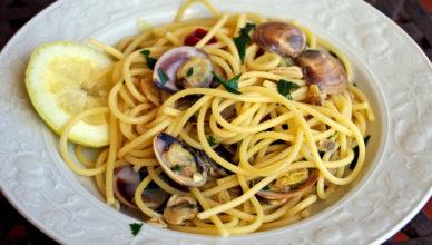 Spaghetti vongole e limone