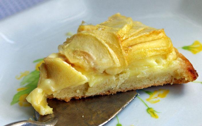 Crostata di mele con crema pasticcera - 2