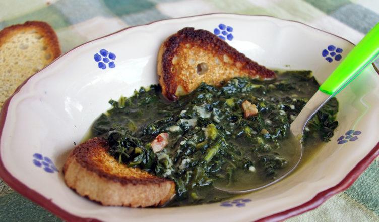 Zuppa di cavolo nero versione semplice