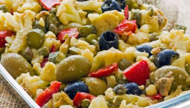 Insalata di rinforzo, piatto tipico napoletano