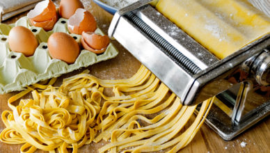 pasta all'uovo, le tagliatelle emiliane