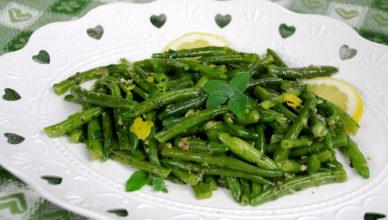 Fagiolini in salsa aromatica alla ligure