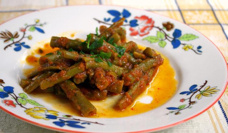 Fagiolini al pomodoro con paprica