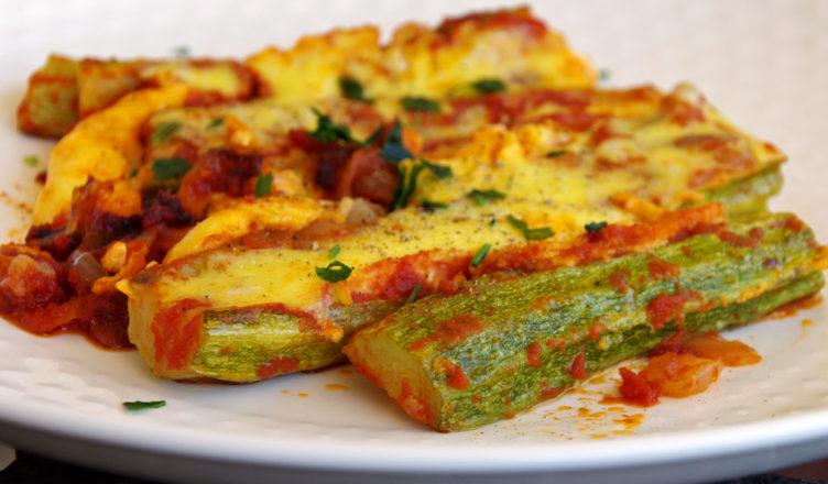 Zucchine al forno, ricetta tipica Sardegna