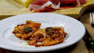 Saltimbocca con formaggio